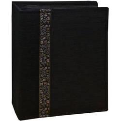 Pioneer Photo Albums TF4100-BK Tone-on Tone Fabric Photo Album (Black)