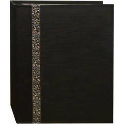 Pioneer Photo Albums TFP246-BK Tone-on Tone Fabric Photo Album (Black)