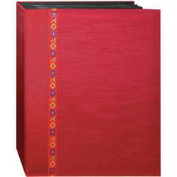 Pioneer Photo Albums TFP246-R Tone-on Tone Fabric Photo Album (Red)