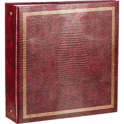"Pioneer Photo Albums TRB-114 8.5x11"" Scrapbook Binder (Burgundy)"