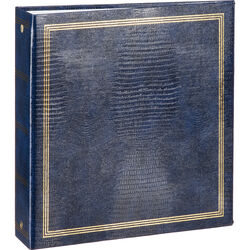 "Pioneer Photo Albums TRB-114 8.5x11"" Scrapbook Binder (Navy Blue)"