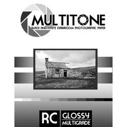 "MultiTone Black & White RC Paper (Glossy, 5 x 7"", 25 Sheets)"