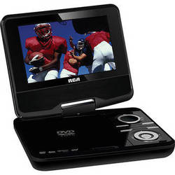"""RCA DPDM70R 7"""" DVD Player With Digital TV"""