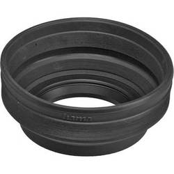 Hama 58mm Screw-In Rubber Zoom Lens Hood for 24mm to 210mm Lenses
