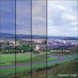 """LEE Filters 4x6"""" Combination Graduated 81EF w/ ND 0.9 Resin Filter - Soft Edge"""