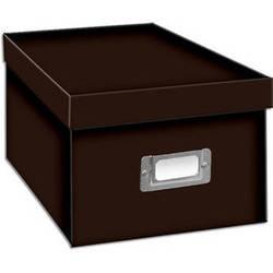 Pioneer Photo Albums BCD-1S/DB Photo CD/DVD Storage Box (Dark Brown)