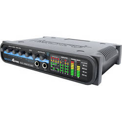 MOTU 4pre - Compact Hybrid FireWire/USB Audio Interface with Microphone Preamps