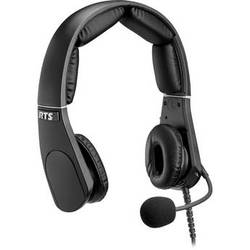 Telex MH-302 Dual-Sided Headset with 4-Pin XLR Female Connector (Black)