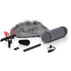 DPA Microphones 4017B-R Shotgun Microphone with Rycote Windshield