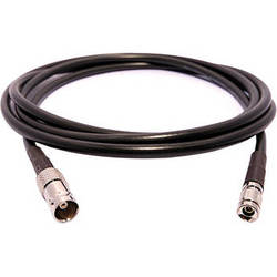 Pro Video Accessories BNC Female to DIN 1.0/2.3 RG-59 SDI Cable - 6'