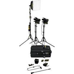 Dedolight SPS3U 3-Light Portable Lighting Kit (120V)
