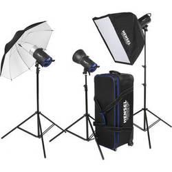 Hensel Integra Mini 900 3 Light Kit (110-240V AC)