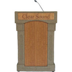 Summit Lecterns DaVinci Integrator Lectern (Beige Granite)