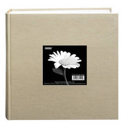"Pioneer Photo Albums DA-200CBF Cloth Frame Album - 4 x 6"" (Biscotti Beige)"