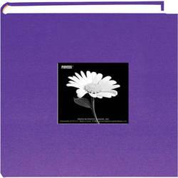Pioneer Photo Albums DA200CBFS-GP Specialty Fabric Frame Bi-Directional Photo Album (Grape Purple)