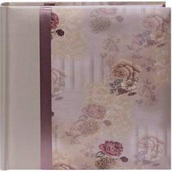 Pioneer Photo Albums DA-200D Bella Fabric Ribbon Designer Page Memo Photo Album (Sage Green)