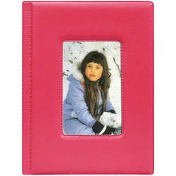 Pioneer Photo Albums KZ-46 Frame Cover Album (Bright Pink)