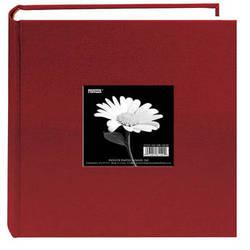 "Pioneer Photo Albums DA-200CBF Cloth Frame Album - 4 x 6"" (Champion Burgundy)"