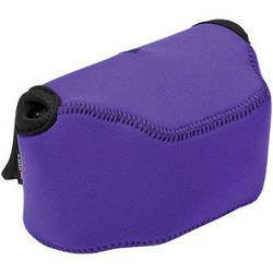 LensCoat BodyBag Point-and-Shoot Large Zoom (Purple)