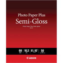 """Canon SG-201 Photo Paper Plus Semi-Gloss (8 x 10"""", 50 Sheets)"""