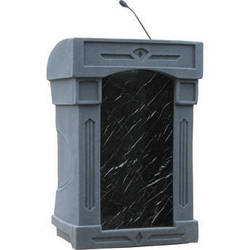 Summit Lecterns DaVinci Integrator Lectern (Gray Granite)