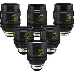 Cooke miniS4/i Cine Lens Set of Six Lenses, 18 to 100mm (Feet)