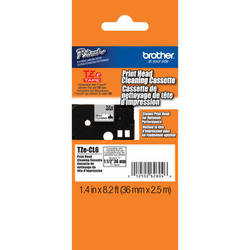 """Brother TZeCL6 1.4"""" Cleaning Tape"""