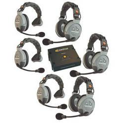 Eartec COMSTAR XT-6 6-User Full Duplex Wireless Intercom System