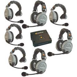 Eartec COMSTAR XT-7 7-User Full Duplex Wireless Intercom System