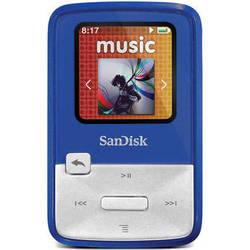 SanDisk Sansa Clip Zip MP3 Player (4GB, Blue)