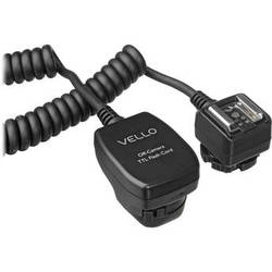 Vello Off-Camera TTL Flash Cord for Canon Cameras (6.5')
