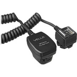 Vello Off-Camera TTL Flash Cord for Canon Cameras (1.5')