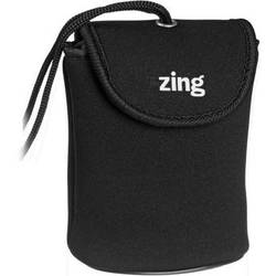 Zing Designs Camera Pouch, Small (Black)