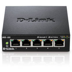 D-Link DGS-105 5-Port Gigabit Ethernet Switch