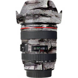 LensSkins Lens Skin for the Canon 24-105 f/4L IS EF USM Lens (Winter Woodland)