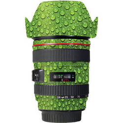 LensSkins Lens Skin for the Canon 24-105 f/4L IS EF USM Lens (Green Water)