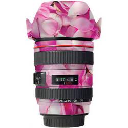 LensSkins Lens Skin for the Canon 24-105 f/4L IS EF USM Lens (Pink Petals)