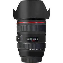 LensSkins Lens Skin for the Canon 24-105 f/4L IS EF USM Lens (Flat Black)