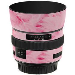 LensSkins Lens Skin for the Canon 50mm f/1.4 USM Lens (Tickled Pink)