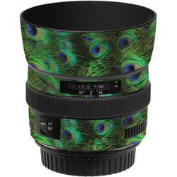 LensSkins Lens Skin for the Canon 50mm f/1.4 USM Lens (Peacock Bliss)