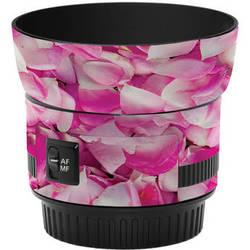 LensSkins Lens Skin for the Canon 50mm f/1.8 II Lens (Pink Petals)