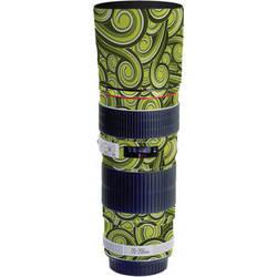 LensSkins Lens Skin for the Canon 70-200mm f/4 Non IS Lens (Green Swirl)