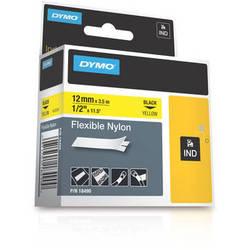 "Dymo Rhino 0.5"" Yellow Flexible Nylon Tape"