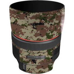 LensSkins Lens Skin for the Canon 85mm f/1.2L II EF USM Lens (Camo)