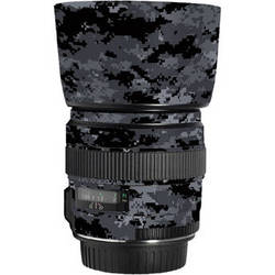 LensSkins Lens Skin for the Canon 85mm f/1.8 EF USM Lens (Dark Camo)