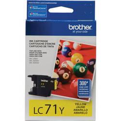 Brother LC71Y Innobella Standard Yield Yellow Ink Cartridge