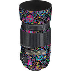 LensSkins Lens Skin for the Nikon 55-300mm f/4.5-5.6G ED VR Lens (Carnival Flair)