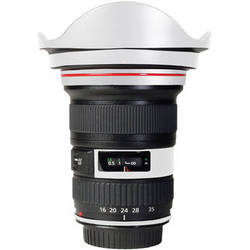 LensSkins Lens Skin for the Canon 16-35mm f/2.8L (Mark 11) Lens (Flat White)