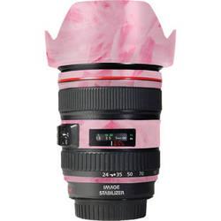 LensSkins Lens Skin for the Canon 24-105 f/4L IS EF USM Lens (Tickled Pink)