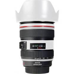 LensSkins Lens Skin for the Canon 24-105 f/4L IS EF USM Lens (Flat White)